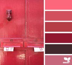 { a door hues } image via: @piensaar  #colorpalette #color #palette #pallet #colour #colourpalette #design #seeds #designseeds