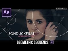 After Effects Tutorial: GEOMETRIC Sequence with Animated Lines - YouTube