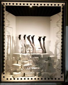 "SAKS FIFTH AVENUE, Indianapolis, Indiana, ""If your going to kick ass, you need kickass shoes"", photo by Olizer René Garcia, pinned by Ton van der Veer"