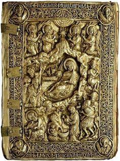 Evangeliário Armênio do Patriarca Hovakim de Qanaqer (1334), conhecido como o Evangelho do Mar, por ter sido salvo de um naufrágio.