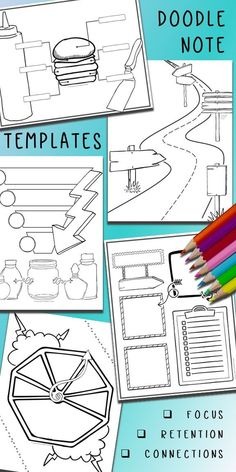 Edit To Create Doodle Notes For Any Lesson All Subjects And Grade Levels