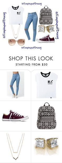 """""""""""I'm a Trending topic"""" ."""" by keepinupwitdezzy ❤ liked on Polyvore featuring Bullhead Denim Co., Illustrated People, Converse, Vera Bradley, Michael Kors, Tom Ford, women's clothing, women, female and woman"""
