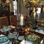 Christmas in Connecticut  Quintessence || Lisa Hilderbrand holiday dining table, New Canaan Holiday House Tour 2015
