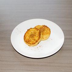 Deze wentelteefjes zijn zoveel lekkerder dan de standaard versie met brood! Ok, er is een klein beetje meer werk aan, maar het is de moeite waard! Tip: heerlijk met calorievrije pannenkoekensiroop van Walden Farms of …