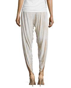 Drapey Printed Harem Pants