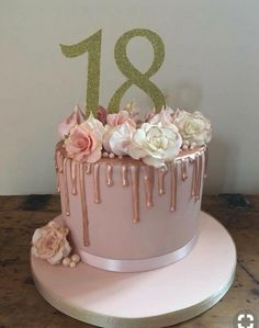 Birthday cake 2019 Birthday cake The post Birthday cake 2019 appeared first on Birthday ideas. 18th Birthday Cake For Girls, 19th Birthday Cakes, Birthday Cake Roses, Creative Birthday Cakes, Sweet 16 Birthday Cake, Elegant Birthday Cakes, Homemade Birthday Cakes, Beautiful Birthday Cakes, Teen Birthday