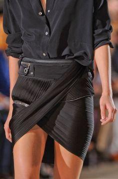 .Falda negra