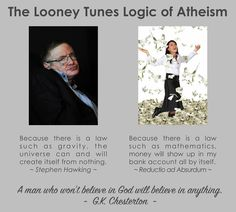 From the page Atheist Heresy.  As I have said before...the fallacious ideology of atheism does a lobotomy on rationality in the brains of otherwise decently intelligent people / atheists. They give up the use of the golden rule and all consistent standards and replace them with fallacies galore...