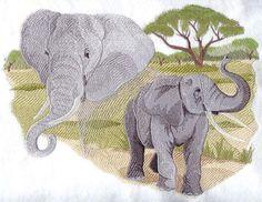 Spirit of the Elephant design (J4083) from www.Emblibrary.com