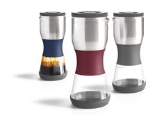 "Introducing Duo, a dual chamber ""twist"" on a  traditional French press. Big bold taste, no gunk"