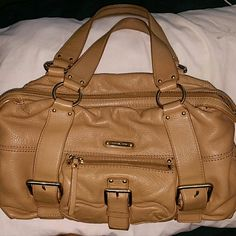 Authentic Michael Kors Bag Camel brown leather Michael Kors bag.  Great condition!!  Trade value 300 Bags