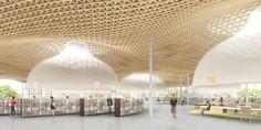toyo ito imagines roof funnels for minna-no-mori gifu media cosmos