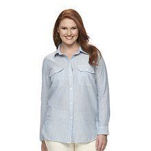 Chaps classic shirt $65