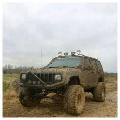 Muddy XJ!
