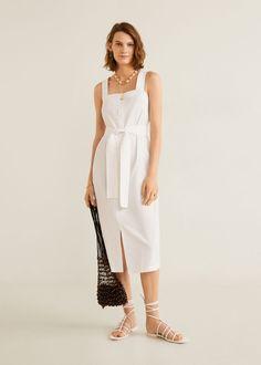 Damen Simple Dresses, Beautiful Dresses, Summer Dresses, Mango Fashion, Look Fashion, Mango Outlet, Mango France, Cute Maternity Outfits, Moda Masculina