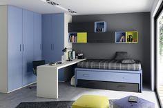 Dormitorios juveniles | mdminteriorismo.es #muebles