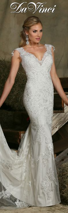 Style 50312 » Wedding Gowns » DaVinci Bridal » Available Colours ...