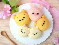 Loving Creations for You: 'Animal Family' Pull apart Chiffon Cupcakes (Pull apart 'buns') Carrot Cake Cupcakes, Egg Cake, Wedding Cakes With Cupcakes, Cupcake Cakes, Decorated Cupcakes, Food Cakes, Cupcake Recipes, Cute Stuffed Animals, Cute Animals