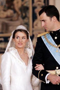 principe felipe y letizia ortiz boda 2004 - Buscar con Google