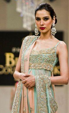 Anarkali or Salwar Kameez --@kbasi05 same color combo as the outfit you love - diff design