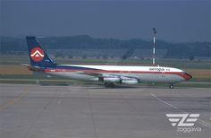 I-SAVA Boeing 707 Aeropa, BSL, 1970s Boeing 707, Bsl, Aircraft Photos, Airplane, 1970s, Vehicles, Plane, Aircraft, Car