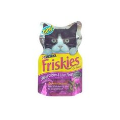 Friskies Cat Treats Chicken Liver and Turkey 2.1 OZ (Pack of 20) -- Want to know more, click on the image. (This is an Amazon affiliate link)