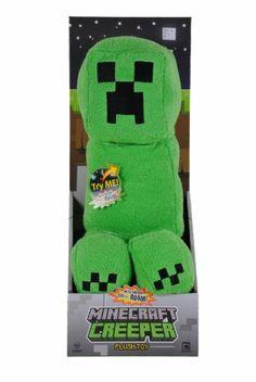 Minecraft Plush Creeper with Sound 37 cm  - ** BARGAIN! **