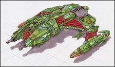 Klingon scout ship