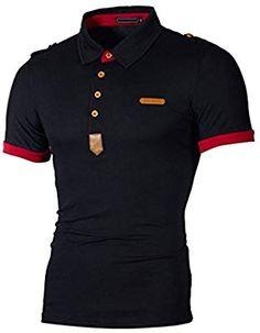 Casy Teey Go to for Motu Mens Polo Shirts Black