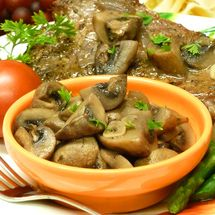 sauteed mushrooms recipe, steak, steakhouse, outback, vegetables, garlic, receipts