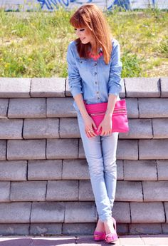 H  Camisas / Blusas, Miss Sixty  Jeans and Primark  Clutches