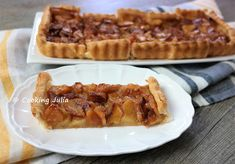 COOKING JULIA  : TARTE POMME-CANNELLE