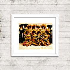 11 x 14 fine art print/boho art/wall by PictorialHistory on Etsy, $40.00