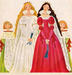 Snow White and Rose Red - illustrated by Gustaf Tenggren