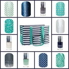 Match your favorite Thirty-one bag this summer with Jamberry Nail wraps. Mix n Match with our nail lacquers for a totally unique, fun look this summer! http://cynthiajams.jamberry.com/