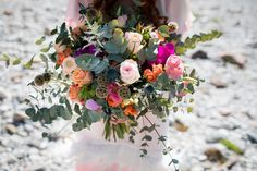 BOHO Styled Shoot Carinthia/Austria Elopement by the river Photo: Tanja und Josef Fotografie – Film Carinthia, Boho Wedding, Austria, Boho Fashion, Floral Wreath, Pink, Wreaths, River, Decor