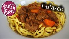Gulasch aus dem Thermomix - Rezept von Vanys Küche Beef, Foodblogger, Youtube, Goulash Recipes, Red Bell Peppers, Side Dishes, Food Portions, Meat, Youtubers