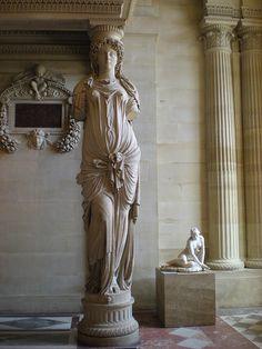 Cariatid, Louvre