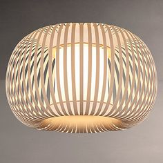 Buy John Lewis & Partners Harmony Ribbon Semi Flush Ceiling Light, Natural from our Ceiling Lighting range at John Lewis & Partners. Lampshade Chandelier, Chandelier In Living Room, Living Room Lighting, Bedroom Lighting, Semi Flush Lighting, Semi Flush Ceiling Lights, Cool Lighting, Lighting Ideas, Kids Ceiling Lights