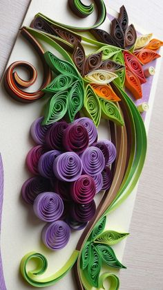 Quilling Art Greeting Card Birthday Wedding от Evashop74 на Etsy