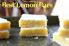 Best Lemon Bars – The Baking ChocolaTess