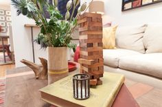 Children's games aren't just for play - they can be used as decor, too! #CousinsUndercover