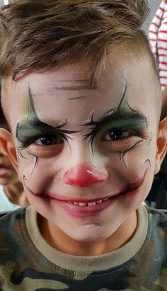 Схемы Раскраски Лиц, Клоунский Грим, Художественный Макияж, Хеллуин Для Малышей, Детский Грим, Малышки, Макияж В Стиле Фэнтези, Клоунские Лица, Хэллоуин Разрисовывание Лица