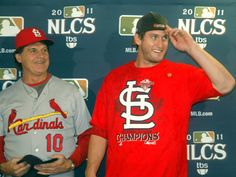 2011 NLCS MVP David Freese. Also in line to replace Matt Holliday as my basebally boyfriend.