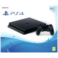 Buy PS4 Slim 500GB Console - Black at Argos.co.uk, visit Argos.co.uk to shop online for PS4 consoles