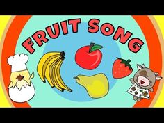 The fruit song for kids is a fun way for children to learn some of the more common fruits we eat. The song uses an interactive call and response structure th. Singing Lessons For Kids, Kids Songs With Actions, Fruit Song, Action Songs, Call And Response, Preschool Songs, Kindergarten Music, Rhymes For Kids, Music And Movement