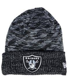 98800104da188 New Era Boys  Oakland Raiders Touchdown Knit Hat   Reviews - Sports Fan  Shop By Lids - Men - Macy s