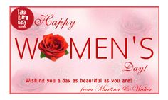 Happy Women's Day from Take It Easy Roma B&B!!!