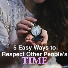 Respecting other people's time is an absolute must. But how do you go about it? Do you completely clear your calendar, always make exceptions for others, or what? These tips will help you easily respect other people's time, while showing some respect for your own calendar.