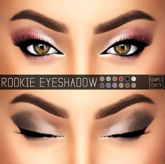 [ Simpliciaty ] ROOKIE EYESHADOW - N01